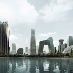 Chaoyang Park Plaza, MAD Architects, © MAD Architects