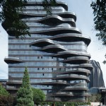 Chaoyang Park Plaza, MAD Architects, © Khoo Guo Jie/Studio Periphery