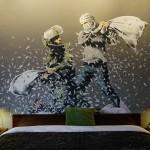 Banksy, Walled Off Hotel, credits www.walledoffhotel.com