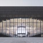 La biblioteca di Tianjin Binhai progettata da MVRDV in Cina