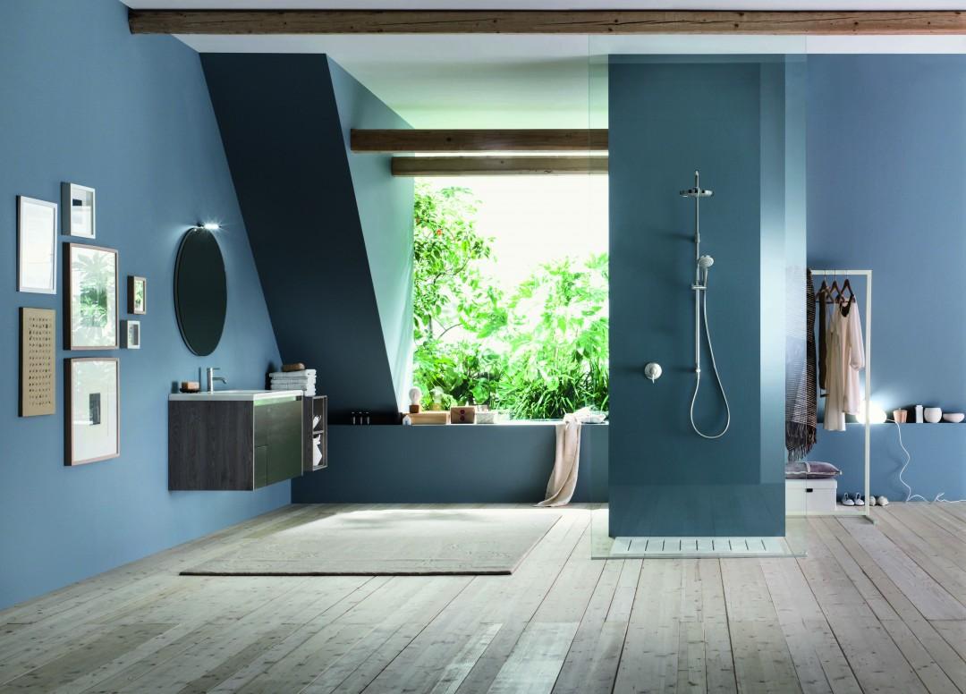 Habimat colonna doccia moderna e funzionale con nobili rubinetterie - Nobili rubinetterie bagno ...