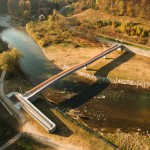 Ponte pedonale, Sulin, Slovacchia, Studio Zerozero
