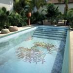 Mosaico+ Collezione Piscine Decoro Corallo