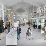 Render Museo Compasso d'Oro