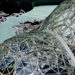 Le Sfere, il nuovo campus di Amazon, ©Amazon