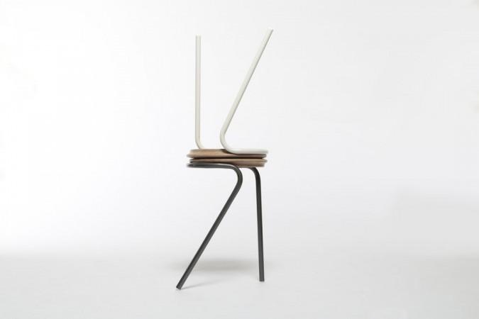 Habimat minimalismo e upcycling: gli sgabelli firmati xiang guan