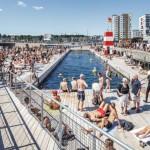 Ad Aarhus lo stabilimento balneare progettato da BIG