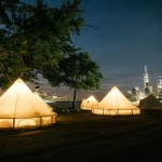 Glamping Governors Island, New York