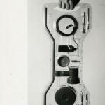 Lampada a saliscendi  Parentesi, Compasso  d'oro 1979, A. Castiglioni da un'idea  di Pio Manzù, 1970, Flos, foto Fondazione Achille  Castiglioni