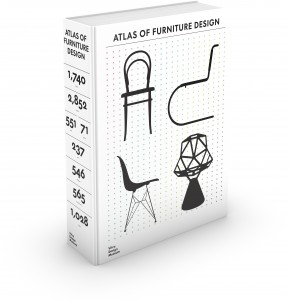 "3D Cover ""Atlas of Furniture Design"" © Vitra Design Museum, Kobi Benezri Studio"