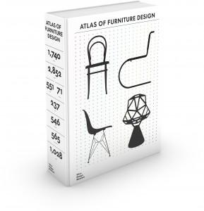 """3D Cover """"Atlas of Furniture Design"""" © Vitra Design Museum, Kobi Benezri Studio"""