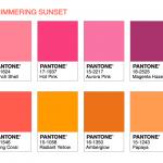 Palette Shimmering Sunset Pantone