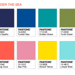 Palette Under the Sea Pantone