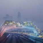 """Il progetto della """"città-socio-tecnica"""" di UNStudio"""