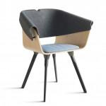 Plastic Whale Circular Furniture, sedia
