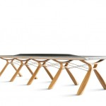Plastic Whale Circular Furniture, tavolo
