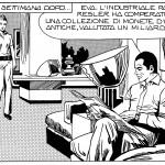 Angela and Luciana Giussani, Sergio Zaniboni and Saverio Micheloni, Diabolik (detail), 1974 © Astorina srl