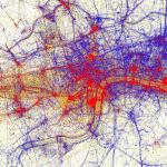 Geotaggers' World Atlas, Eric Fisher, Londra