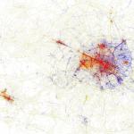Geotaggers' World Atlas, Eric Fisher, Parigi