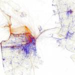 Geotaggers' World Atlas, Eric Fisher, San Francisco