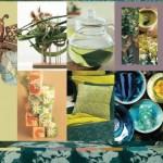 Pantone, palette Tea Garden