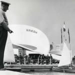 Luciano Baldessari Padiglione Breda Milano Trade Fair 1952. Photo Archivio Breda
