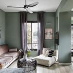 Il verde imperversa nel design a fine decennio