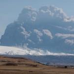 Esplosione del vulcano islandese Eyjafjallajökull