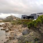 """Casa Bunker, La Maddalena, """"Casa Bunker, la mia casa sull'isola de La Maddalena, minima ed essenziale, per quattro spazi personali ognuno con autonomia ed uscita al mare, anno 1967"""""""