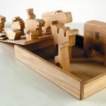 1957 16 animali gioco didattico a incastro prodotto da Danese Milano in legno nel 1959 e successivamente in poliuretano 36 x 27 x 5,5 cm Collezione privata Foto Federico Villa