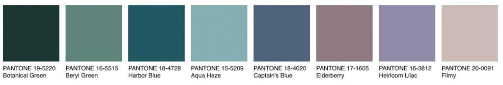 Palette Synery Pantone