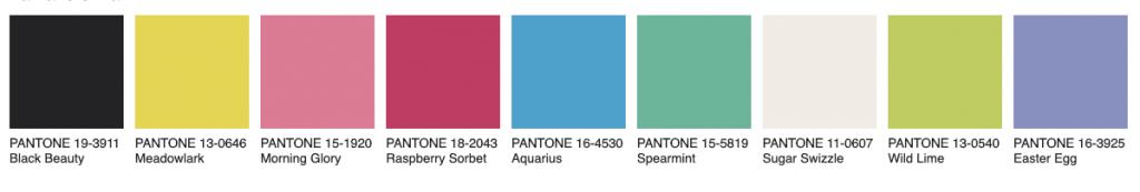 Palette Vivify Pantone