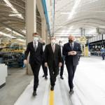 La visita di Mario Draghi allo stabilimento di Atlas Concorde