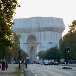 L'Arc de Triomphe, Wrapped, Paris, 1961-2021, Photo: Wolfgang Volz ©2021 Christo and Jeanne-Claude Foundation