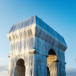 L'Arc de Triomphe, Wrapped, Paris, 1961-2021, Photo: Lubri, © 2021 Christo and Jeanne-Claude Foundation